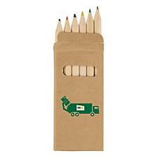 6 Piece Colored Pencil Set
