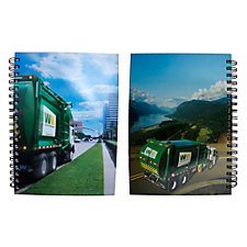 Truck Imagery Journal Book - 7.25 in. x 10.125 in. (1PC)