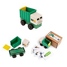 Recycled Eco Truck with How-To-Recycle Flash Cards (1PC)