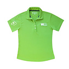 Ladies Custom 100% Recycled Polo Shirt - Limited Availability - (1PC) - WMPO