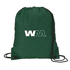 Nylon Drawstring Sport Bag - 14 in. W x 16.5 in. H (1PC)