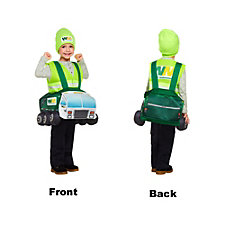 Custom Waste Management Halloween Kids Costume