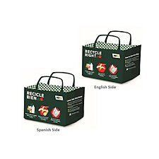 Recycle Right Reusable Tote Bag